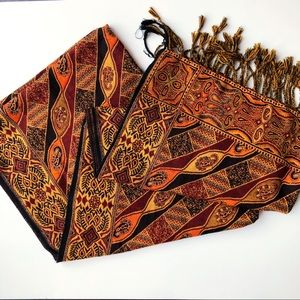 Handmade Woven Pattern Mosaic Scarf